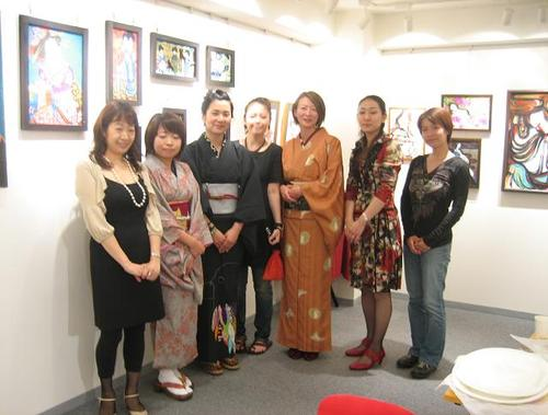 Japanese Beauty展 artists